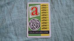 Kártyanaptár alföld 1979