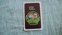 Kártyanaptár csemege 1979