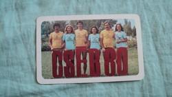 Kártyanaptár cséb 1979