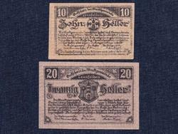 2 db osztrák szükségpénz 1920/id 7402/