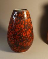 Tófej kerámia váza gyönyörű 19 cm