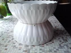 Népi porcelán leveses tálak