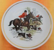 Vadászjelenetes Rieber Bavaria tányér