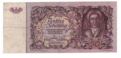 50 schilling 1951 Ausztria Ritka