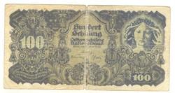 100 schilling 1945 Ausztria