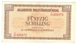 50 schilling 1944 Ausztria katonai