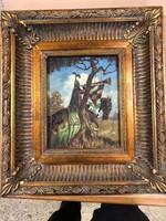 Kis olaj festmény
