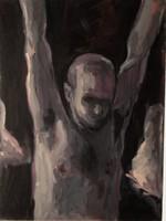 Tunyogi: Hanging self nude, 2009