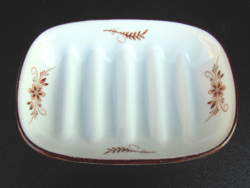 Porcelán szappan tartó