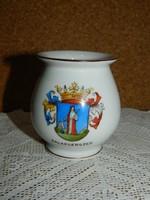 Herendi Zalaegerszeg címeres váza.