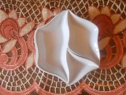 Zsolnay porcelán 4 részes kínáló szett