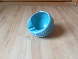 Zsolnay alapmázas félgömb hamutál hamutartó