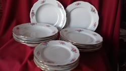 Porcelán tányér készlet, étkészlet + ajéndék