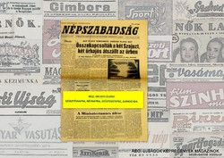 1980 március 2  /  NÉPSZABADSÁG  /  Régi ÚJSÁGOK KÉPREGÉNYEK MAGAZINOK Szs.:  9454