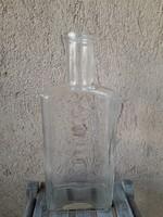 Régi likörös üveg, 1,1 l