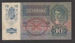 10 korona 1915.  EF!!  GYÖNYÖRŰ!!!