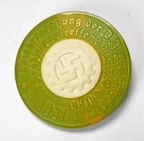 3.Birodalom, DAF Gau éves találkozója NSBO 1937 jelvény