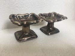 Antik bècs ezüst 1851 biedermeier fûszertartô pàr