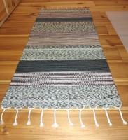 'FÖLDszínesen' kézzel szőtt gyapjú szőnyeg, faliszőnyeg
