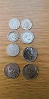 Eladó 8db vegyes ezüst pénzérme!