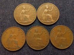 Anglia - VI. György One Penny évszám gyűjtemény/id 7861/