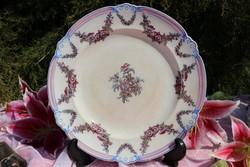 Antik Angol fajansz tányér