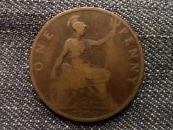 Anglia - Viktória One Penny 1900/id 7899/