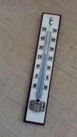 Régi szép állapotú fali hőmérő