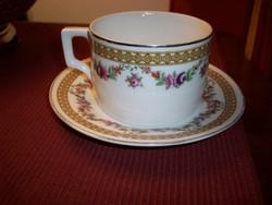 Zsolnay teás csésze és alj