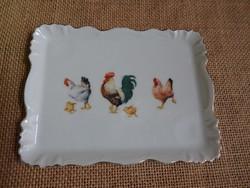 Victoria kis baromfis porcelán tálka / mini tálca