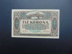 10 korona 1920 a 073 Sorszám között pont