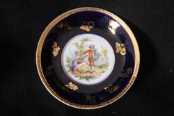 Altwien porcelán tányér