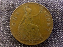 Anglia - V. György One Penny 1934/id 8000/