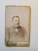 Régi fotó férfi portré