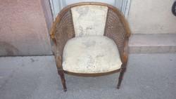 Nádfonatos kisebb méretű fotel