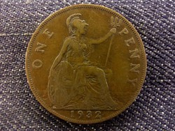 Anglia - V. György One Penny 1932/id 7999/
