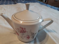 Alföldi porcelán tea kiöntő tetővel