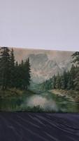 Alpesi tájkép