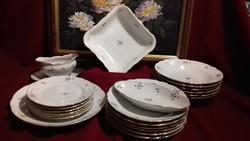 Reinecke Germany porcelán étkészlet, tálalókészlet ,tányérok, tálak
