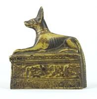 0W167 Egyiptomi Anubisz dísztárgy