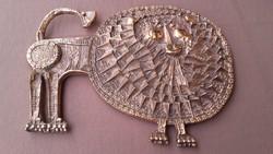 Kopcsányi Ottó  bronz oroszlán