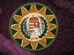 2000 éves Magyarország, jubileumi tál, tányér  31,3 cm, 84.