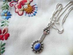 Art deco ezüst nyaklánc