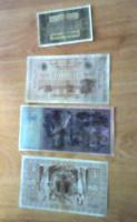 4 darab régi Német Márka