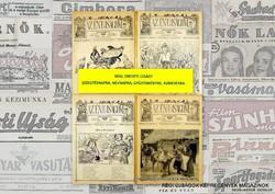 1934 április 8  /  Az Én Ujságom  /  RÉGI EREDETI ÚJSÁG Szs.:  5949