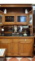 Szecessziós antik tálalószekrény