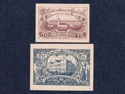 2 db osztrák szükségpénz 1920 (id7406)