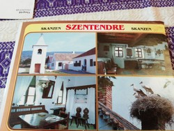 Szentendre Skanzen képeslap