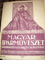 Magyar Iparművészet IV, Károly koronázási szám 1917. 1-2-3 6tripla szám/