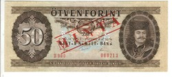 50 forint 1980 MINTA UNC